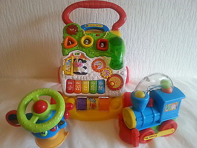 VTECH BABY WALKER and other  toys  Toy bundle Job Lot