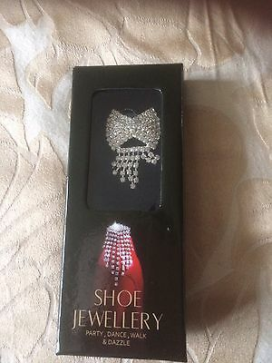 Shoe Jewellery Bow Design - New and Boxed