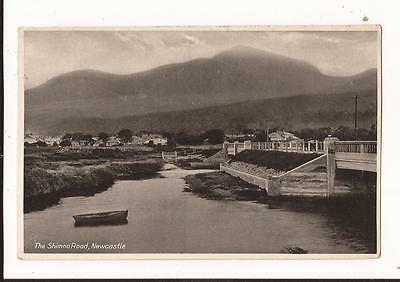 The Shimna Road,Newcastle,County Down, Postcard
