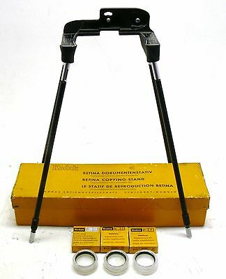 Kodak Retina Copying Stand with all 3 close-up lenses, boxed EXC++
