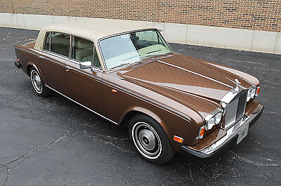 """1980 Rolls-Royce Silver Shadow - II The """"Trump"""" discount! Elections over - BUY!! 33,000 miles, 1 family ownership."""