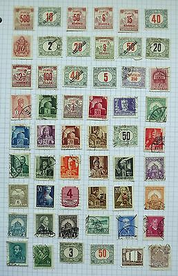 Hungary. Collection of 54 stamps.      C