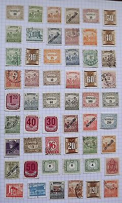Hungary. Collection of 54 stamps.      F
