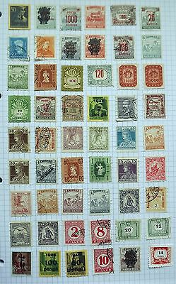 Hungary. Collection of 54 stamps.      B
