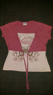 Tammy Girls Pink Top Age 12 Years
