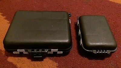 fishing tackle storage box x2