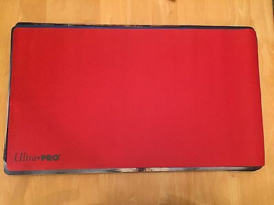 Solid Red Ultra Pro Play Mat Magic The Gathering Mtg
