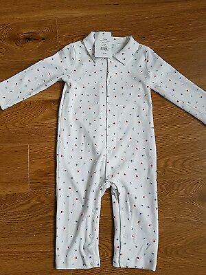 Bnwt the little white company boys suit 9-12 months