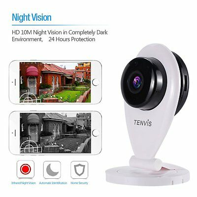 Baby Monitor with Camera - Tenvis Wireless Baby Monitor Night Vision
