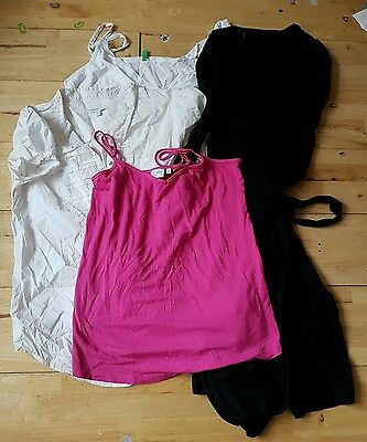 bundle of next and gap maternity clothes size 10