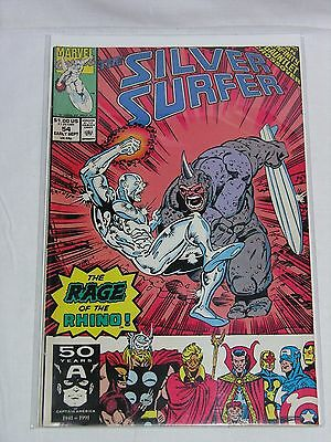 THE SILVER SURFER #54 - Marvel 1991 Excellent condition