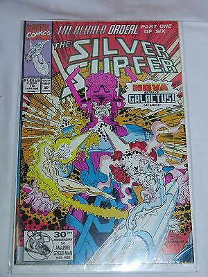 Marvel comics THE SILVER SURFER 70 (Late Aug 1992)