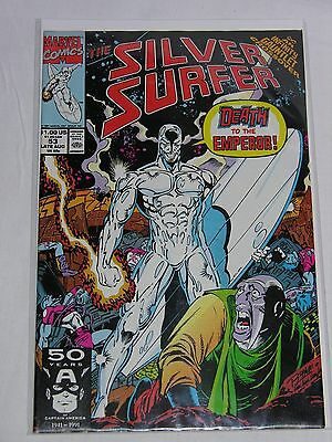 THE SILVER SURFER #53 - Marvel 1991 Excellent condition
