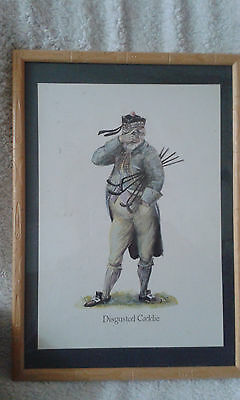 GOLF picture / Comical print Caricature ~~~LOOK!!!~~~