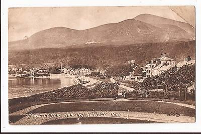Newcastle from Annesley Hotel, County Down Postcard