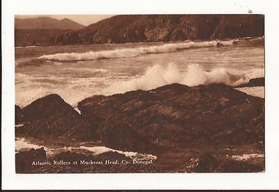 Atlantic Rollers at Muckross Head, County Donegal Postcard