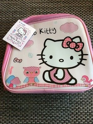 Kids Hello Kitty Lunch Bag New
