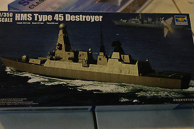 Trumpeter 1/350 Scale Type  45  Destroyer  Kit  04550