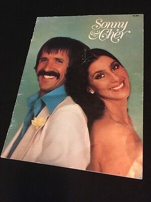 SONNY & CHER 1977 Tour Concert Program Programme Book