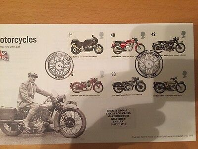 GB Motorcycles FDC 2005, Solihull Pmk