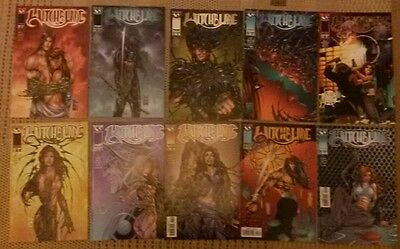 Witchblade Issues 20-29 (job lot)