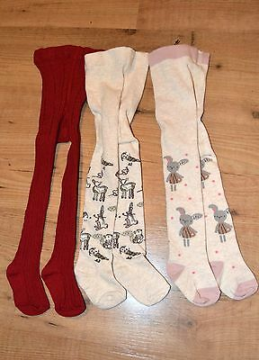 Baby girl amazing NEXT new tights bundle size 0-6 months
