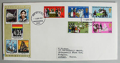 1970 Anniversaries First Day Cover