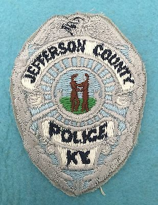 Old Jefferson County Police, Kentucky shoulder patch
