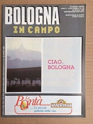 World Cup (Italy) 1990 Bologna In Campo Brochure