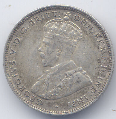 British West Africa (Nigeria, Gold Coast, Gambia) King George V: shilling, 1918H
