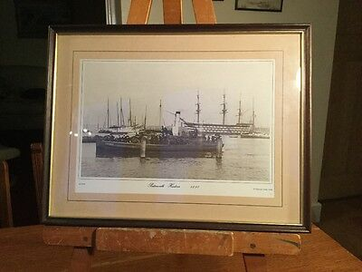 Old Print Portsmouth Harbour