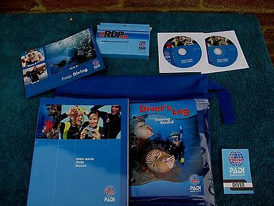 Padi Open Water Delux Crew Pack New Bought Not Used As Pics Show