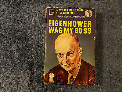 Eisenhower Was My Boss Kay Summersby 1948 1St Ed Paperback