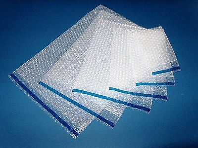 Clear Self Seal Bubble Bags Choose Quantity/Size