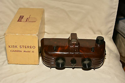 Kirk Stereo Camera Model 33 In Original Box