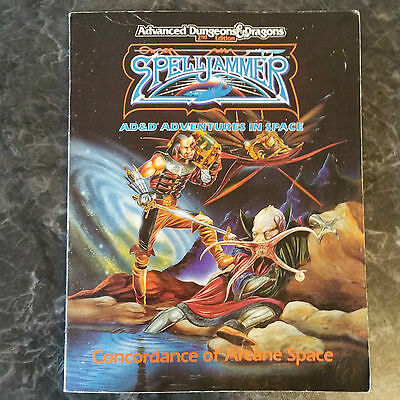 Advanced Dungeons & Dragons Spelljammer: Concordence of Arcane Space
