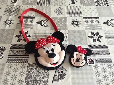 Girls Minnie Mouse bag and purse