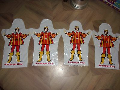 Vintage Burger King Plastic Hand Puppets Crown KFC Container Foghorn Leghorn A&W