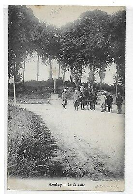 AVELUY (SOMME) Le CALVAIRE
