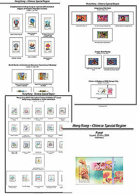 Print a Hong Kong SAR Album Fully Annotated & Completely Colour Illustrated