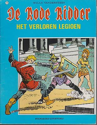 DE RODE RIDDER 78 strip HET VERLOREN LEGIOEN WILLY VANDERSTEEN