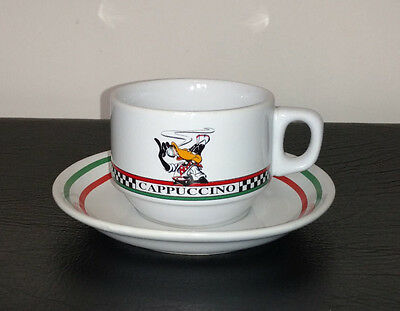 ACME Homeworks Warner Bros Daffy Duck Cappuccino Cup And Saucer