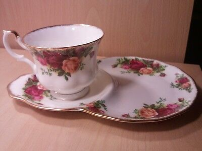 Royal Albert Old Country Roses Tennis Cup And Saucer