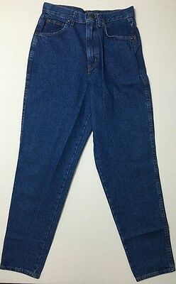 Vintage Chic Jeans Size 12 High Waisted 28x30 Tapered Size 6