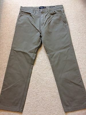 M&S Blue Harbour Tapered Trousers W34 L29, Hazelnut