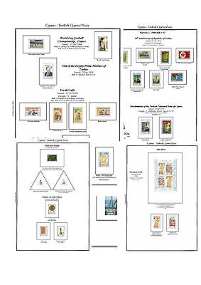 Print a Turkish Cyprus  Album Fully Annotated & Completely Colour Illustrated
