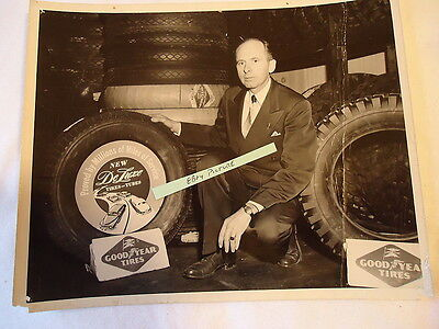 Original Photo - Goodyear Tires early advertising