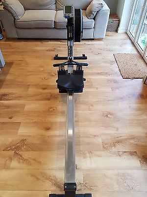 Concept 2 rowing machine with PM4 display and RowPro software