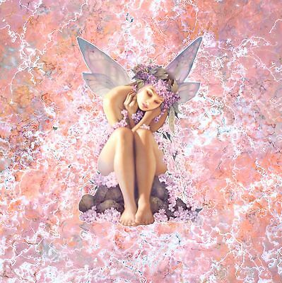 Nik Tod Recreated From Original Painting Large Sign Art Abstract Gorgeous Fairy