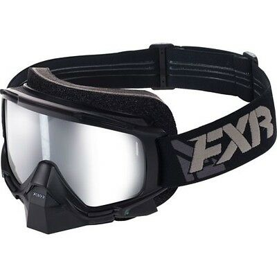 Fxr Mission Electric Heated Snow Ski Goggles -Black-  One Size -New
